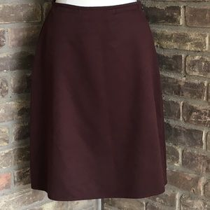 Liz Claiborne Brown Skirt Size 4